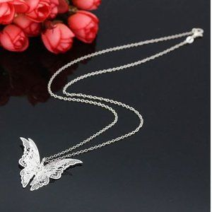 Butterfly Pendant Chain Jewelry